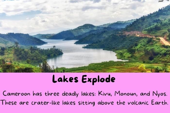 Kivu lake.