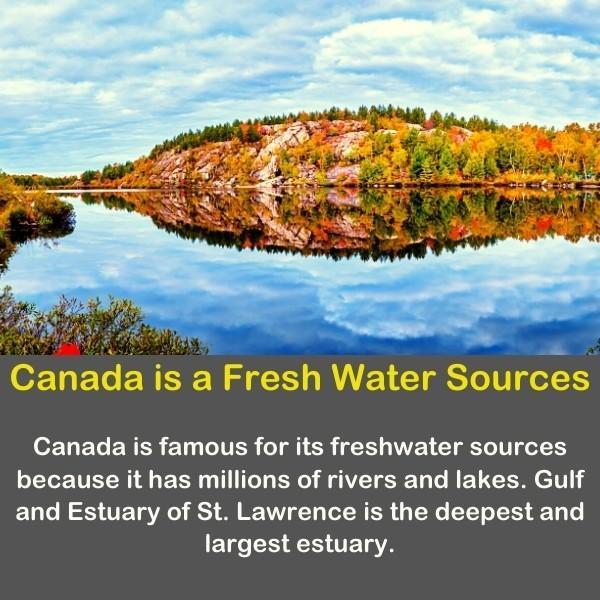 Canada beautiful river