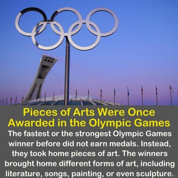 The Olympic logo in the Olympic Games