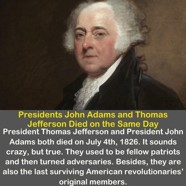 Presidents John Adams