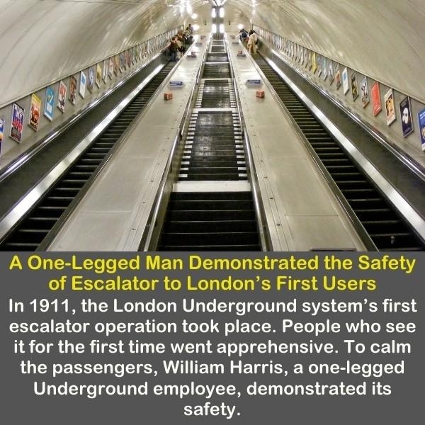 An Escalator on London.