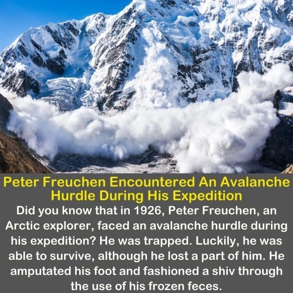 An Avalanche Hurdle