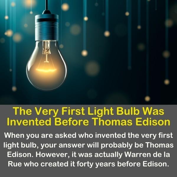 An old  light bulb.