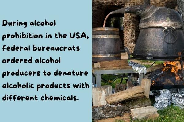 Old Machine to manufacturers alcohol.