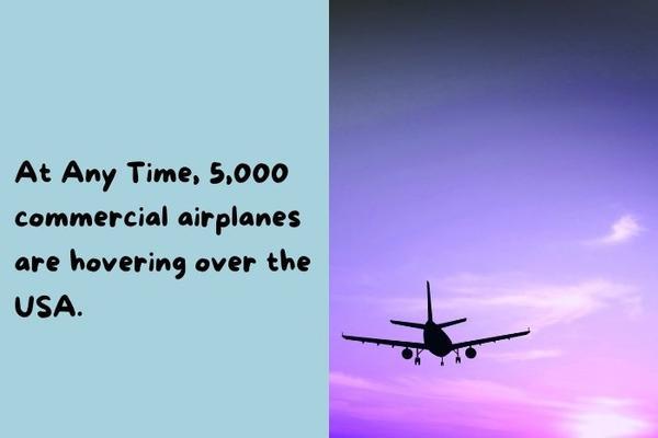 Airplane on a purple sky.