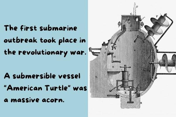 The first submarine invented in the US.