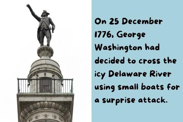 George Washington statue.