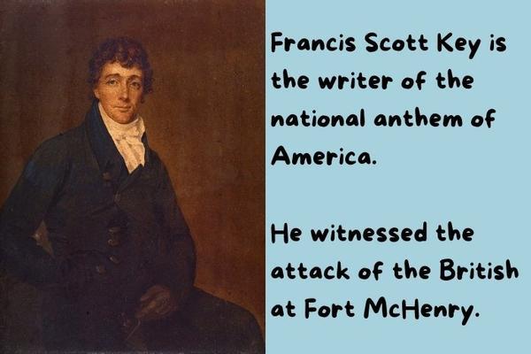Painting of Francis Scott.