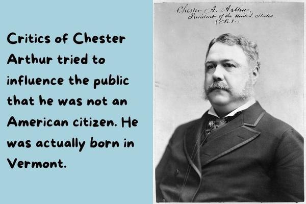 Chester Arthur - The USA President