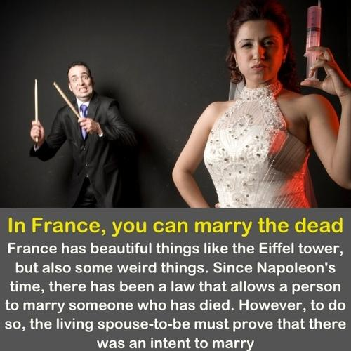 A funny image of a man afraid of his wife.