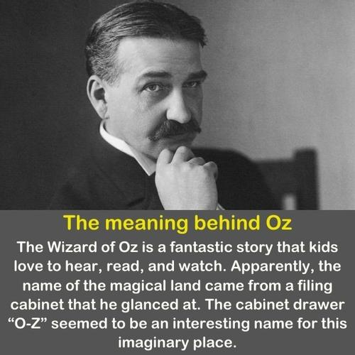 L. Frank Baum in a black and white image.