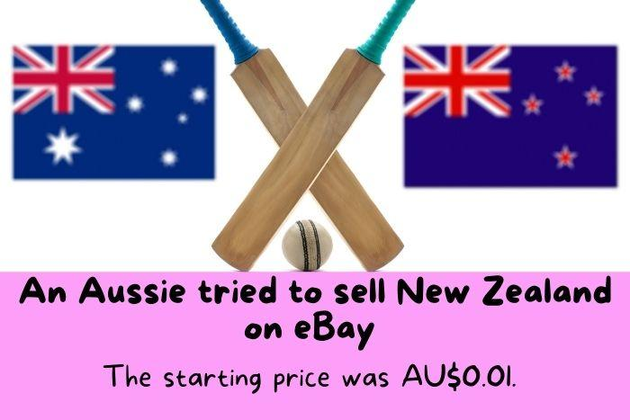 Australian flag and New Zealand flag.