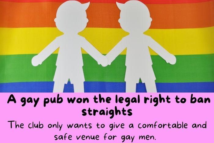 The gay flag.