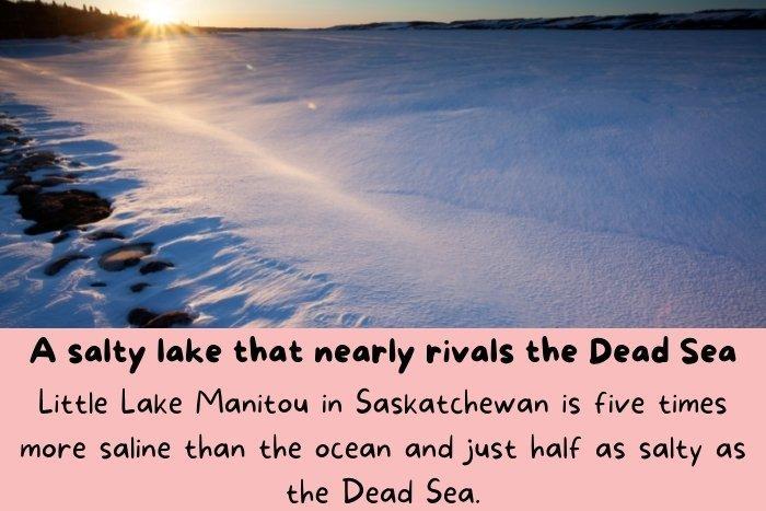 Little Lake Manitou in Saskatchewan