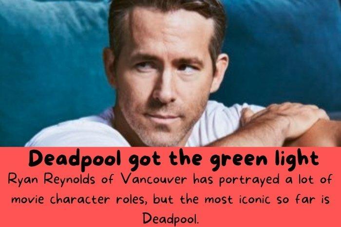 Ryan Reynolds of Vancouver