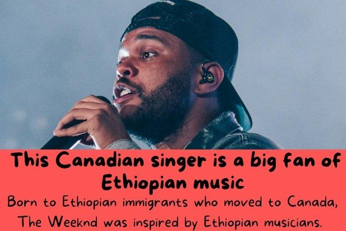 The Canadian singer named Weekend