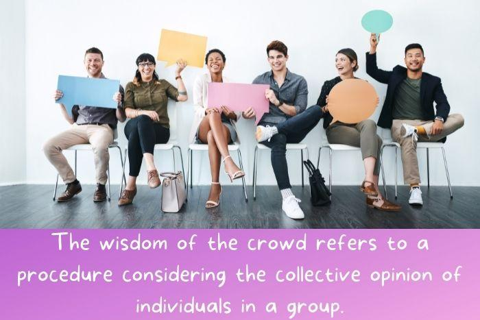 A group made of diversified individuals.