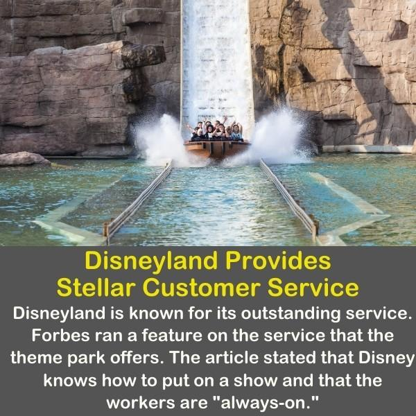 Disneyland theme parks and water slid.