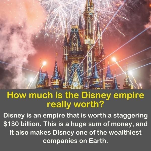 Disney castle in Disneyland.