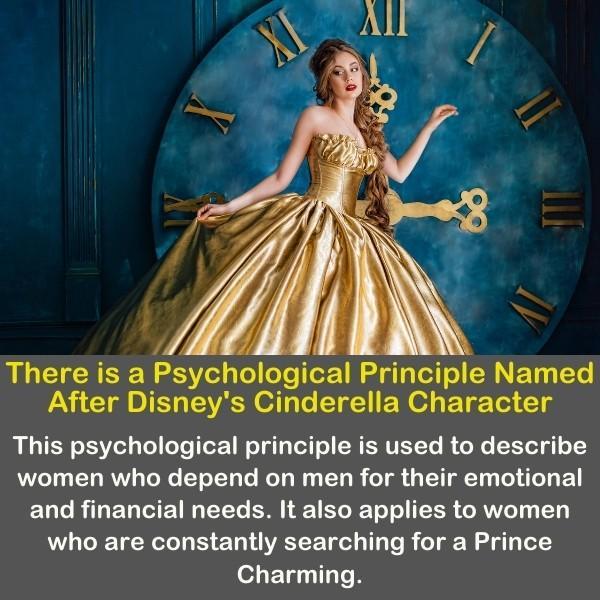 Cinderella, the Disney princess.