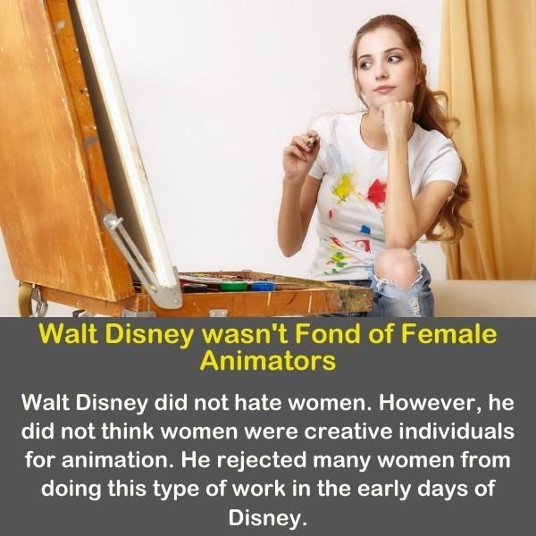 A females' painters illustrating Disney's painters.