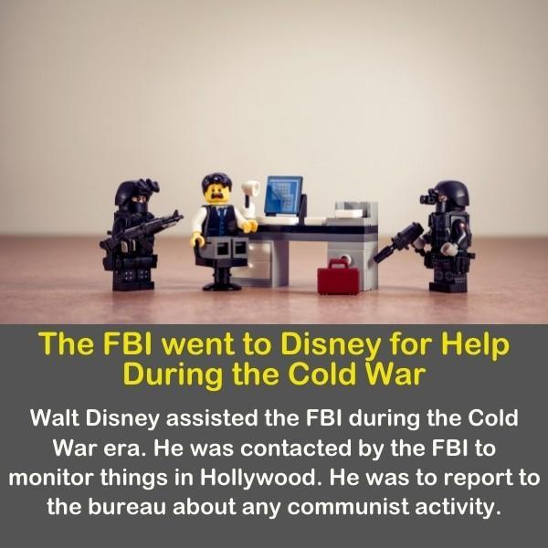 Lego cops illustrating the FBI.