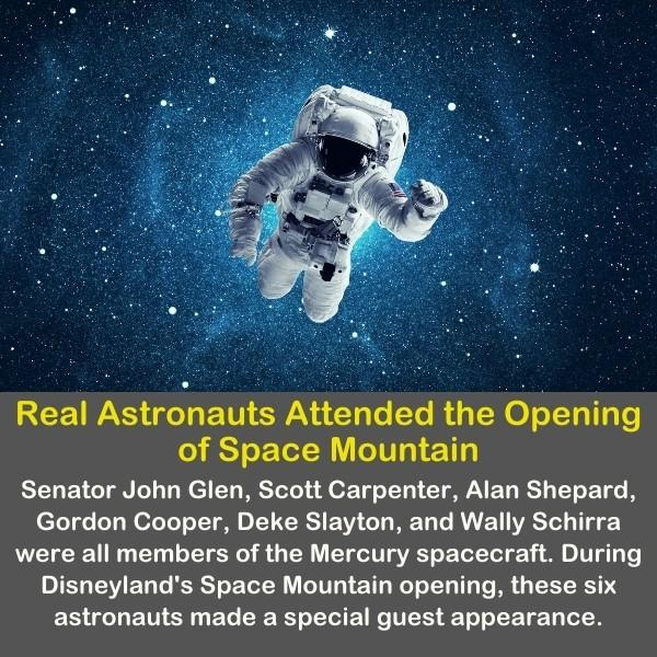 Astronauts in the space.