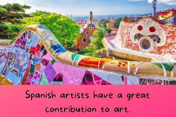 Spanish artists and Spanish art.