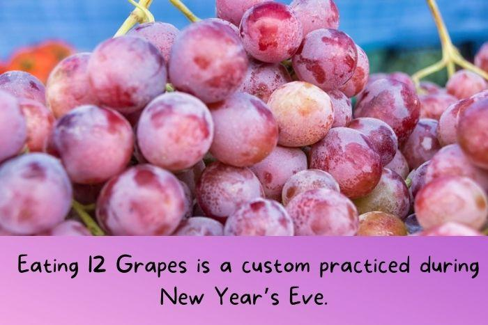 Grapes from Spain.