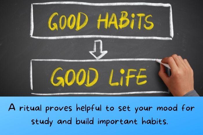 Good habits create good life