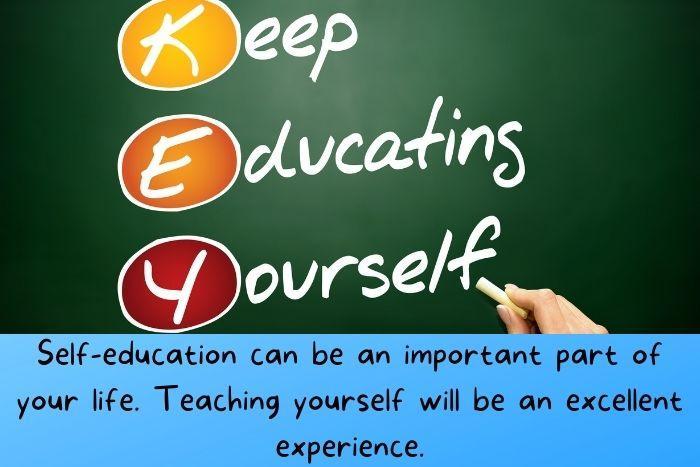 Self-education Plan