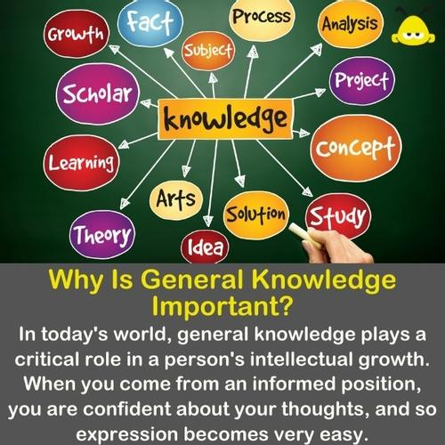The word Knowledge with many other words around it that explains what its knowledge.