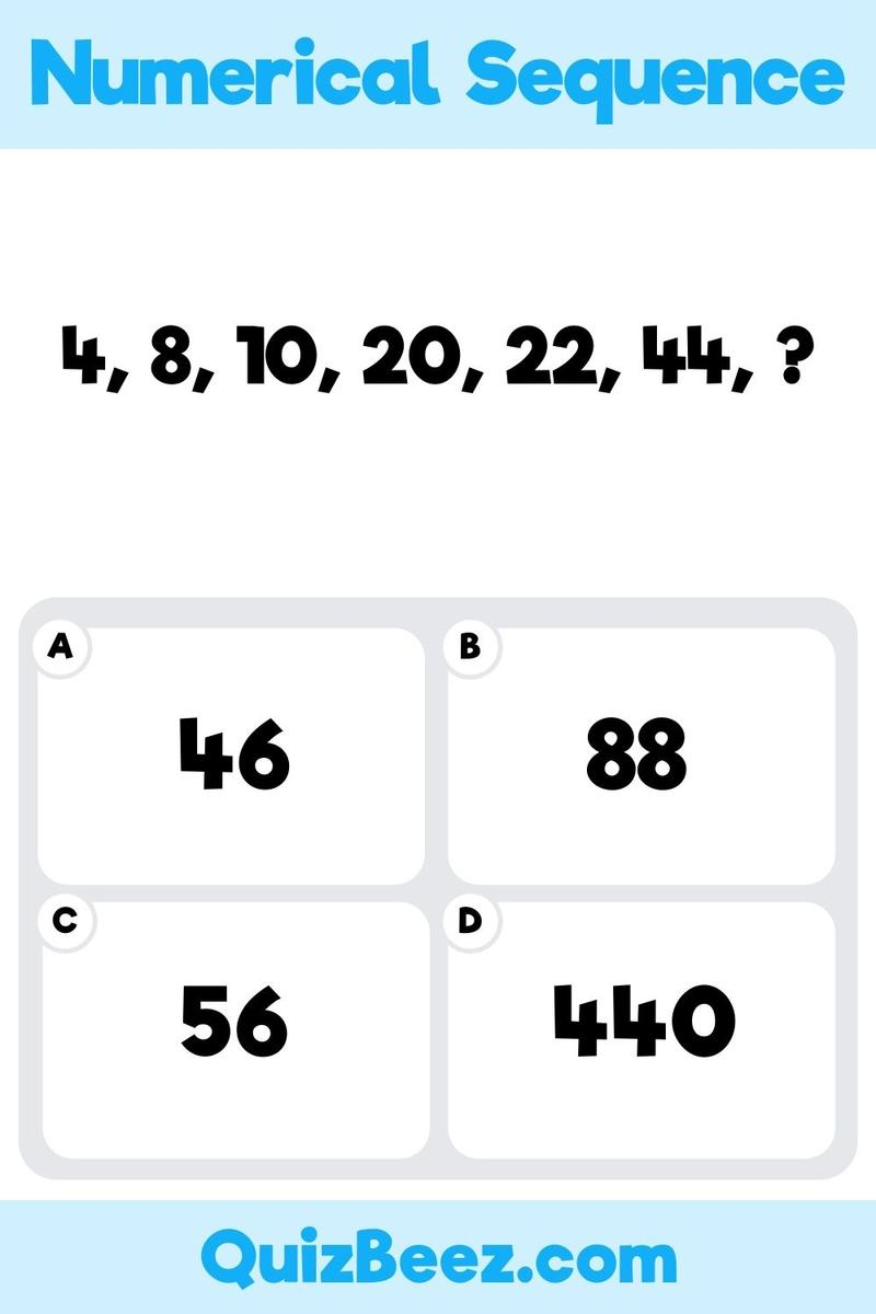 Numerical sequence question from an IQ test.