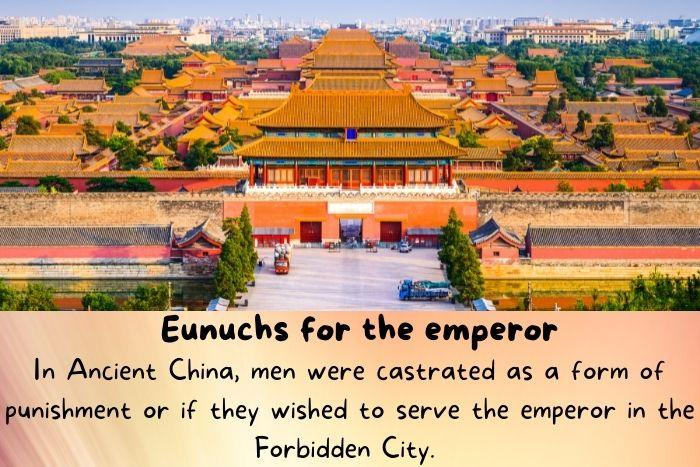 The forbidden city in China.