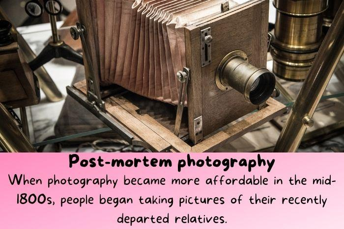 An old camera.