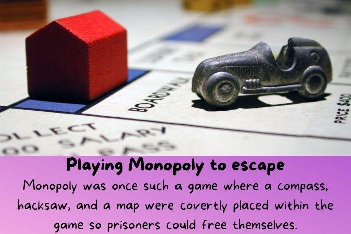 A Monopoly game.
