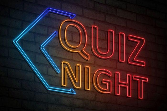 Quiz night sign - what is trivia night?