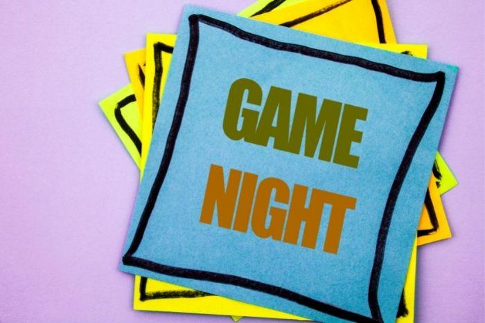 Game night is on