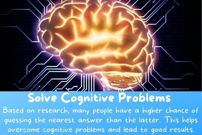 The wisdom of the crowd theory can solve cognitive problems.