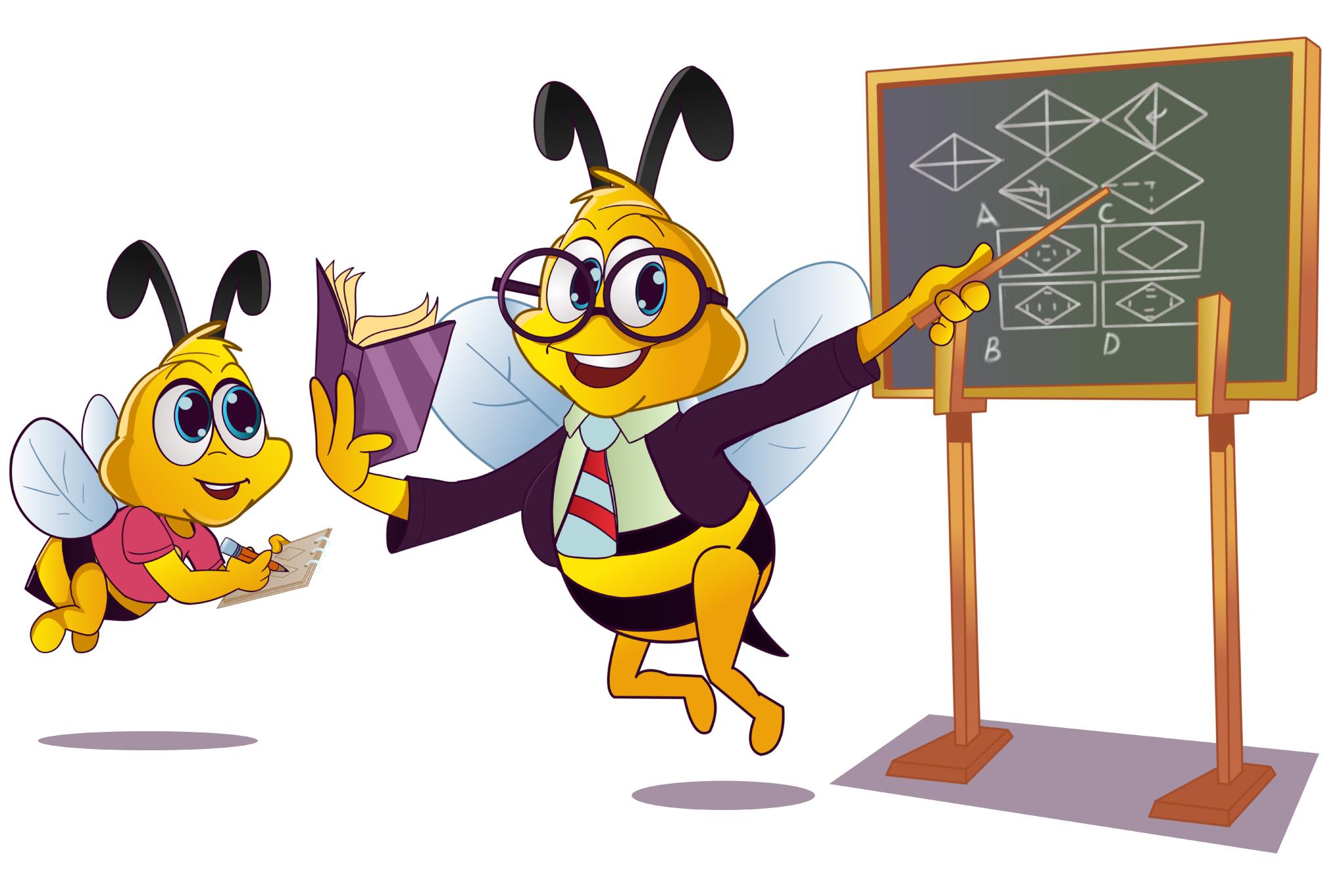 Smily Bee, Quiz Beez Logo