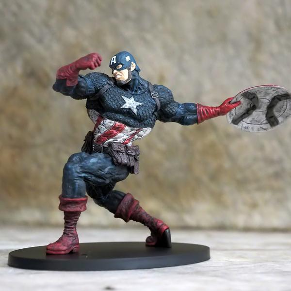 Captain America from the Avengers.