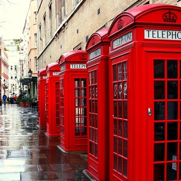 A historical British street.