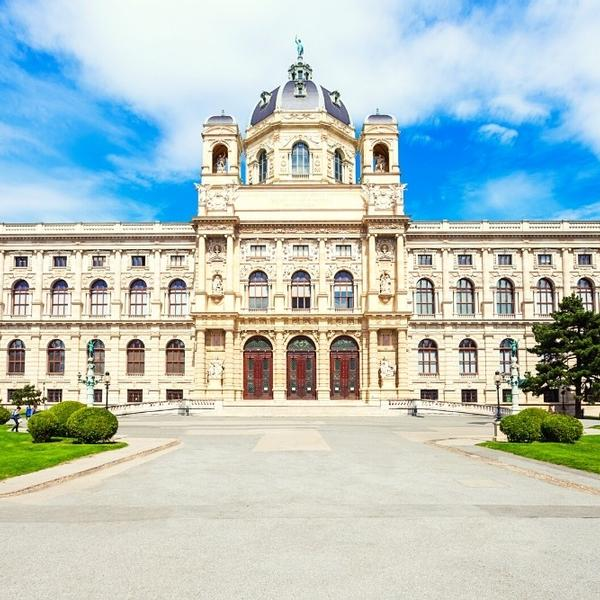 The Natural History Museum or Naturhistorisches in Vienna, Austria, Europe.