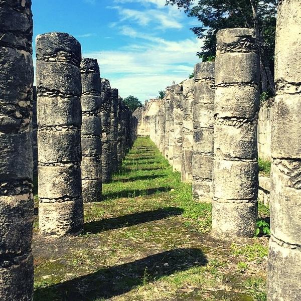 The historical Chichen Itza in Mexico.
