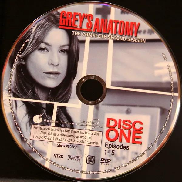 Grey's Anatomy Disk