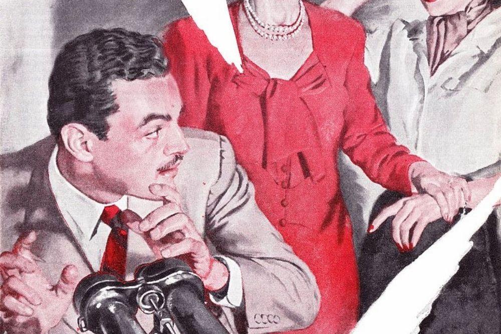 The American Magazine printing, Perry Mason.