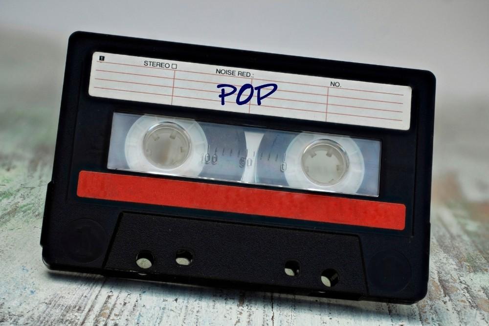 An old pop music cassette.