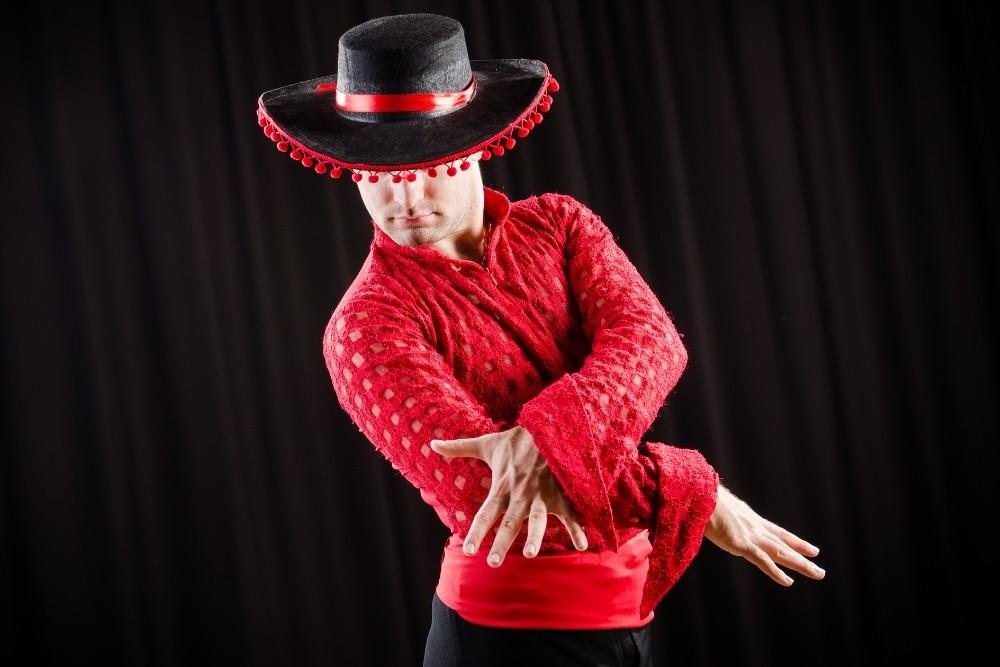 A Spanish dancer.
