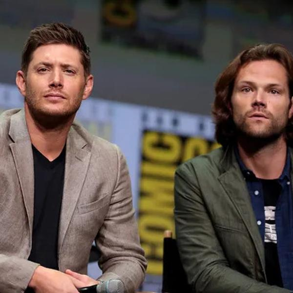 Supernatural Collage with Jensen Ackles (Supernatural) In Comic Con.