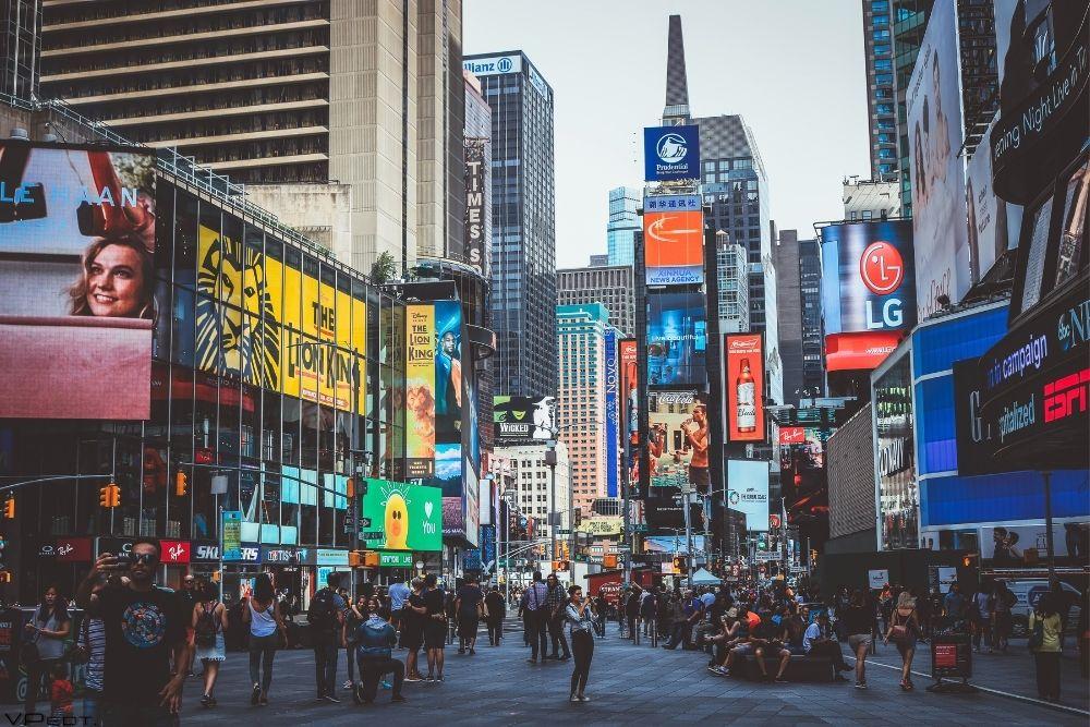 The Broadway street